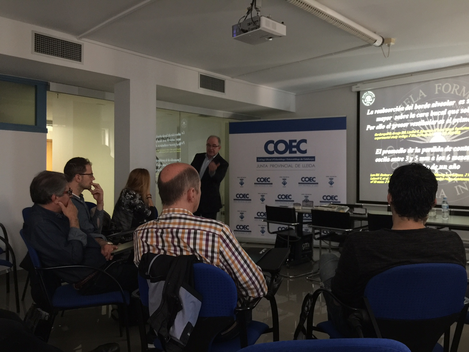 Course and talk of Dr. Arano at COEC in Lleida