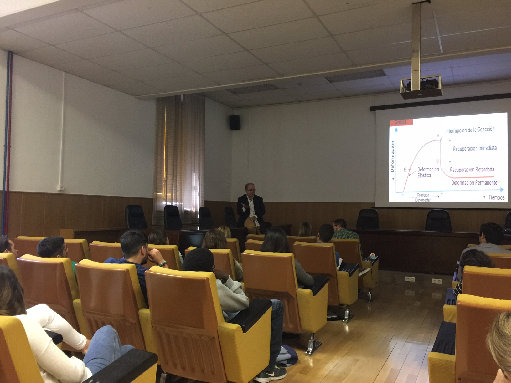 Course in the University of Granada given by Dr. Arano