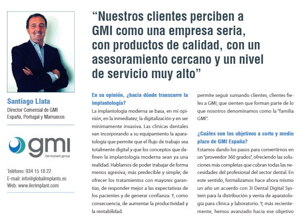 Interview with Santiago Llata, Commercial Director of GMI Spain, Morocco and Portugal