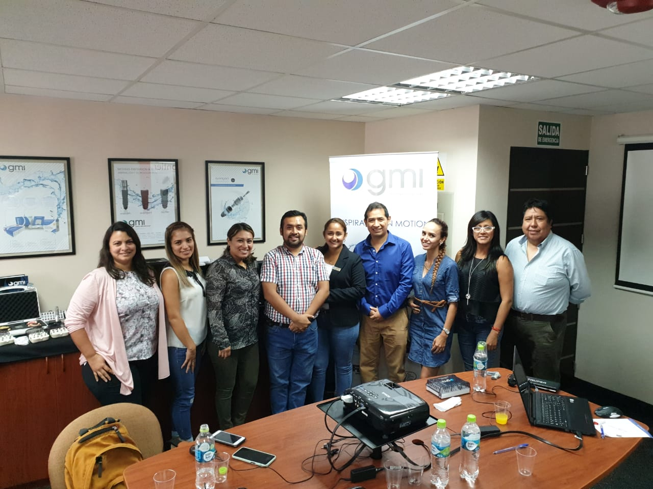 Workshop of Guided surgery and 3D printing organized by GMI Peru