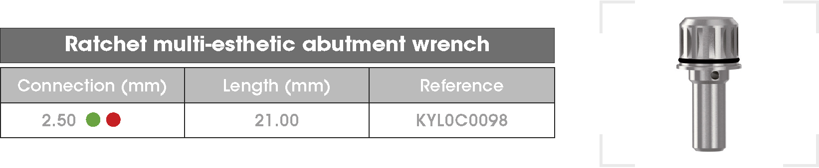 ME abutment wrench